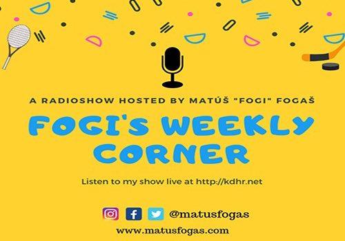 Fogi's Weekly Corner